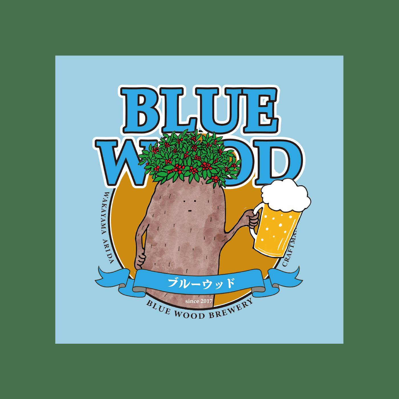ブルーウッドブリュワリーロゴ